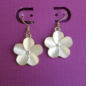 Jewelry - Flower and Rhinestone Earrings 5 for $25